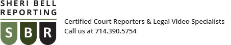 Sheri Bell Reporting Logo